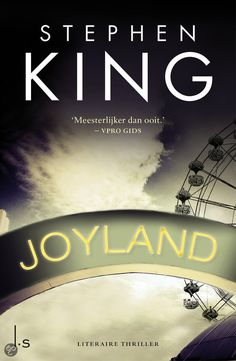 Joyland- stephen king  Nieuwe favo-schrijver!