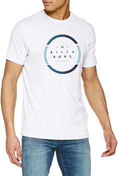 Shop BILLABONG Men's Spinning Ss T-Shirt. Mens Fashion Wear, Ralph Lauren, Billabong, Fitness Fashion, Active Wear, Shirt Designs, Graphic Tees, Street Wear, T Shirt