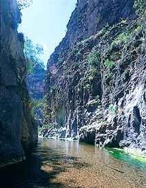 Paraiso Canyon, in Peñamiller, Queretaro, Mexico
