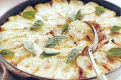 Chicken and tomato bake with melted brie