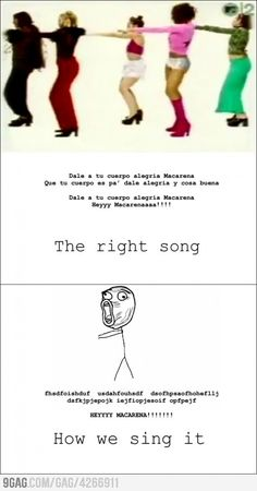 hahahaha I sing it like this