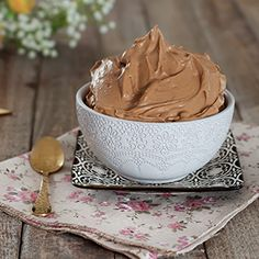 Recipe Images, Frosting, Peanut Butter, Ice Cream, Cupcakes, Cookies, Baking, Desserts, Recipes