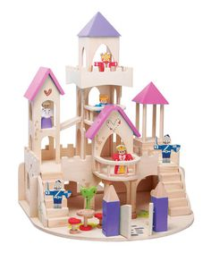 Take a look at this Fairy-Tale Castle Set by Maxim on #zulily today!