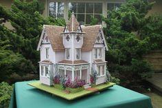 Beautiful Half Scale Fairfield Dollhouse