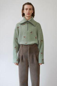 Ready-to-wear Nicolai Spearmint Green Melange 375x Mood Boards, Acne Studios , b2892d0e589