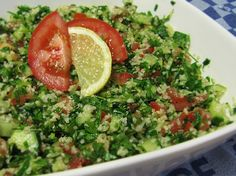 Salata Tabouleh - patrunjel proaspat