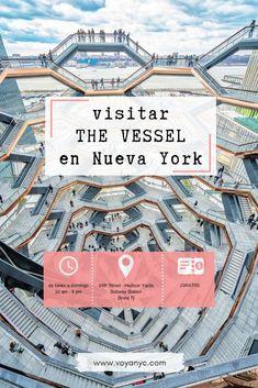 The Vessel - El nuevo Must-See de Nueva York a NYC - Bebe Tutorial and Ideas New York Vacation, New York City Travel, Rockefeller Center, Nyc, New York Bucket List, Empire State Building, I Love Ny, Brooklyn, Times Square