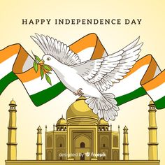 Hand drawn india independence day background Free Vector Independence Day Drawing, Independence Day Background, Independence Day India, Vector Hand, Vector Free, Backgrounds Free, Hand Drawn, Crafts For Kids, How To Draw Hands