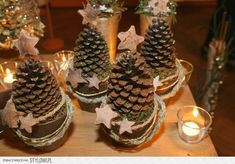 Perfect for both fall and winter, try these Easy Pine Cone Crafts ideas for Kids, and the whole family. Fun and easy DIY Christmas Crafts for all ages.Little Hiccups: DIY Waterless Snow Globes (homemade kids gifts snow globes)Creative DIY Snow Globe Mason Pine Cone Christmas Tree, Rustic Christmas, Winter Christmas, Pine Cone Crafts, Christmas Projects, Holiday Crafts, Christmas Ideas, Pine Cone Decorations, Christmas Decorations