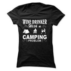 Wine And Camping #sunfrogshirt