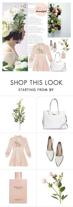"""If I saw you on the street, would I have you in my dreams tonight?"" by seemstobe ❤ liked on Polyvore featuring Pier 1 Imports, Brooks Brothers, Gucci and OKA"