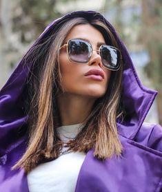"elnaz_rokh on Instagram: ""هرگز فکر نکنید باید سال ها قبل  شروع میکردید این فکر باورهایتان را خراب می کند.. در عوض بگویید... می خواهم همین الان شروع کنم وبهترین…"" Sunglasses Women, Ray Bans, Style, Fashion, Swag, Moda, Fashion Styles, Fashion Illustrations, Outfits"