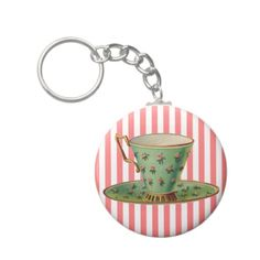 tea cup vintage | Vintage Victorian Tea Cup Keychain | Zazzle.co.uk