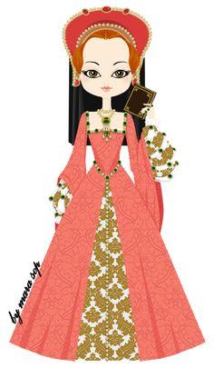 Lady Elizabeth Tudor by marasop on deviantART, Princess Elizabeth