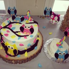 owl 1st birthday | Owl First Birthday Cakes | Celebrations
