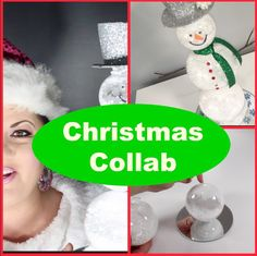 check out this super cute DIY made with items from the dollar tree #christmas #diy #dollartree