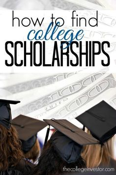 Looking for free college funding is no easy task. However, it's something you should definitely do. Here's how to find college scholarships and grants. http://thecollegeinvestor.com/16573/how-to-find-college-scholarships/ college student resources, colleg