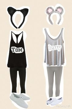 halloween costumes ideas Going to do this for Halloween with my best friend!