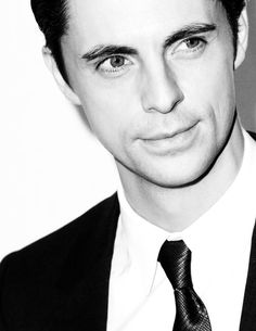 Matthew Goode...so excited he'll be on an upcoming ep of Downton Abbey!