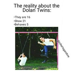 I honestly have a SERIOUS problem and obsession with the Dolan Twins