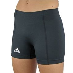 """adidas Women's TechFit 4"""" Volleyball Short. Love their spanks! So comfy and DONT ride up!!"""