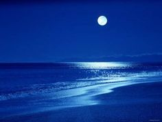 Full moon over the sea Picture from Sea and beach. Full moon over the sea Luz Natural, Nocturne, Types Of Renewable Energy, Milky Way Stars, Coral Bleaching, Moon Beach, Solar Installation, Beautiful Moon, Beautiful Things