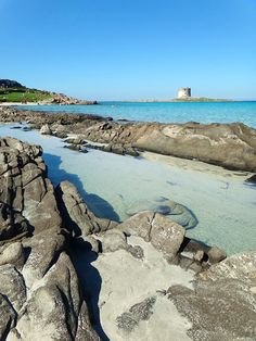 La Pelosa in October - stintino province of sassari , Sardinia, Italy