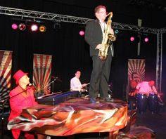 Italian Entertainment And More: Mr Mephisto's Spectacular Pianoshow - 3 april 2013 - Theater De Speeldoos te Baarn