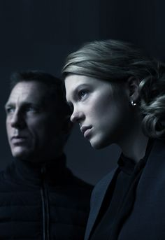 Black&Blue; - Daniel Craig & Lea Seydoux - Spectre (2015)