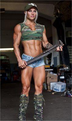 I feel like a pipefitter, do I look like one? #talklive to #Female #bodybuilders and #wrestlers 800-222-3539(FLEX)