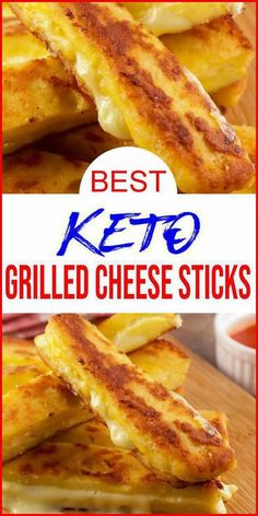 Grilled Cheese Sticks, Keto Grilled Cheese, Grilled Cheese Recipes Easy, Shrimp Recipes, Chicken Recipes, Cheese Sticks Recipe, Quail Recipes, Diet Recipes, Healthy Recipes
