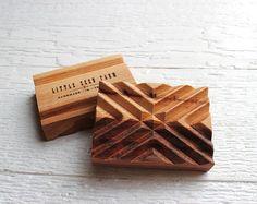 Plato de jabón de madera hecho a mano