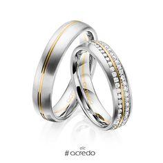 #alianzas de matrimonio con diamantes.  Opciones en oro, oro blanco, platino, oro rosa y oro rojo.  #anillos #boda #matrimonio #diamantes #oro Band Rings, Wedding Planning, Wedding Rings, Engagement Rings, Jewels, Diamond, Beauty, Design, Groom