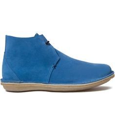 Suede Blue Pool The Saturday Afternoon Man Shoe