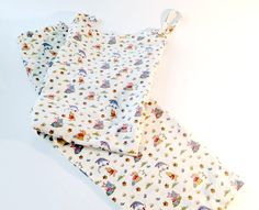 Pooh Fabric Winnie the Pooh Lounge Set Bedtime Girls by 2Fun4Words