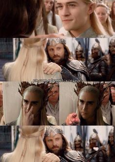 His son is off limits Aragorn!