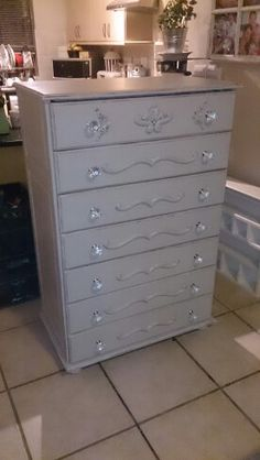 Reworked chest of drawers