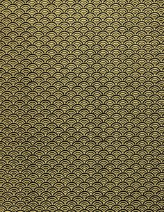 Chiyogami paper (gold pattern--Japanese paper place)