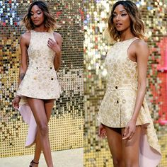 British supermodel #JourdanDunn at the World Premiere of Absolutely Fabulous: The Movie at Odeon Leicester Square in London.