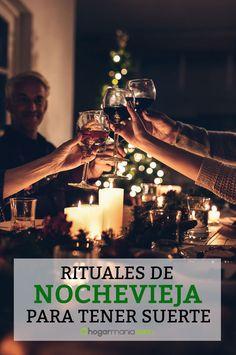 Para algunas personas, seguir una serie de rituales la noche del 31 de diciembre asegura todo un año de prosperidad. Te contamos algunos de ellos.