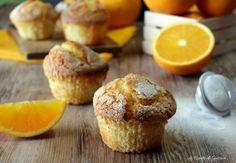 Muffin all'arancia Ricetta anche Bimby Soffici e profumate