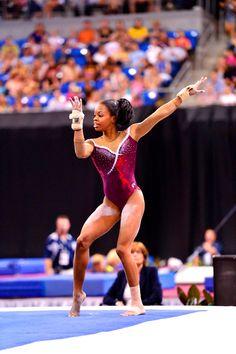 Gabrielle Douglas Returns to the Floor at 2015 Jesolo Trophy