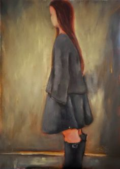 Anastasia Rapantzikou - Saliari / my oil paintings on canvas: walking down the hallway Oil Painting On Canvas, Oil Paintings, Anastasia, Walking, Hallways, Redheads, Illustration, Artwork, Google Search