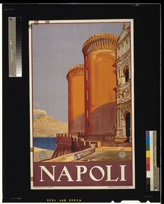 Napoli. Napoli : Richter & C., [ca. 1920] Artist Posters, Library of Congress Prints and Photographs Division.
