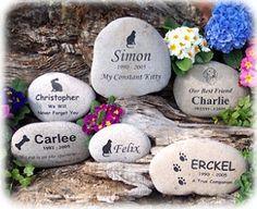 Pet Urns ,Pet Grave Markers, Pet Memorial Stones , Pet Headstones | 4everinmyheart