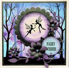 blog.karten-kunst.de - Lavinia Stamps VII. Lavinia Stamps Small Pixies, Lavinia Stamps Spring Trees