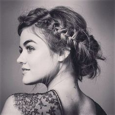 Lucy Hale★Gad a thew minor roles and a role in pll … More