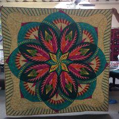 Vintage Rose ~Quiltworx.com, made by CI Kathi Carter Sweet