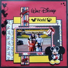 Walt Disney World - Scrapbook.com