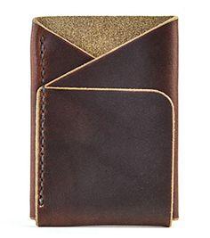 Double-Cross Wallet (Brown)